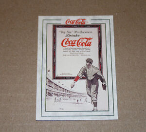 COCA-COLA CHRISTY-MATHEWSON Series 2