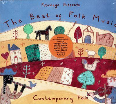 The Best of Folk Music  Putumayo Presents (Digipak)  BRAND  NEW SEALED