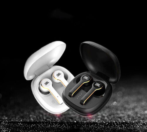Wireless JBL Bluetooth Earphone TUNE TWS in Ear Headphones with Charger Box Gift