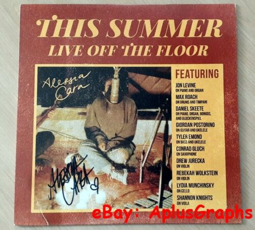 ALESSIA CARA... This Summer: Live Off The Floor LP Vinyl - SIGNED