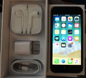 iPhone 6 64gb new Space gray, factory unlocked 10/10 condition