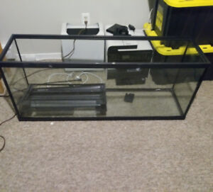 50 gallon Fish tank aquarium with accessories