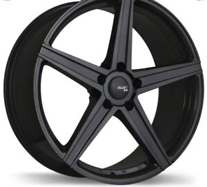 "20"" black  rims only one season old"