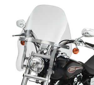 PARE-BRISE TOURING SMOKE HARLEY *QUICK RELEASE*