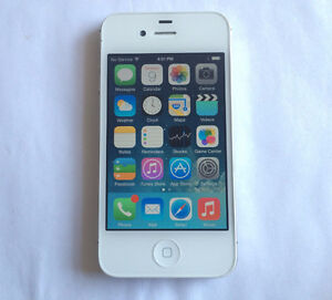 Apple iPhone 4S 8GB White Factory Unlocked Excellent Condition