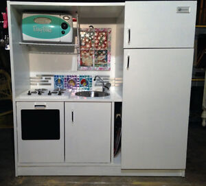 Kids Toy Kitchenette with Easy Bake Oven & lots more.