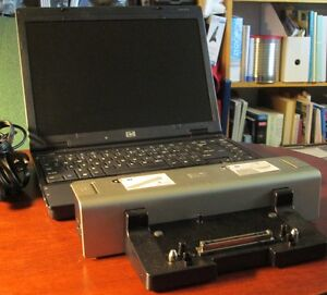 HP Compaq, core 2 duo & station d'accueil