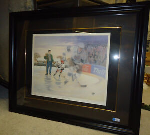 Wayne Gretzky - A Boy and His Dream - Limited Edition print