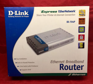D-LINK  Router DI-704P
