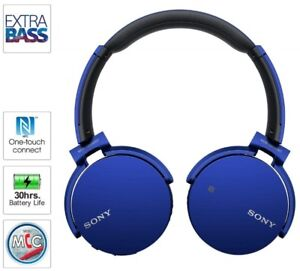 Sony Extra Bass Wireless Stereo Headset Bluetooth brand new