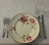 Mismatched China/Cutlery/Water Glasses