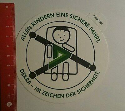 Aufkleber/Sticker: Dekra im Zeichen der Sicherheit (08091636) ()