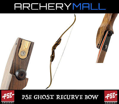 New PSE Archery Coyote 2 Recurve Bow 60 inch 50 lbs Black with Camo Limbs