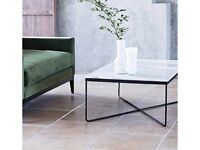 LOMBOK Marble coffee table & 2x side tables
