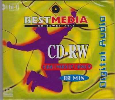 BestMedia Audio CD- RW AUDIO FOR MUSIC ONLY 1 STÜCK NEU + OVP