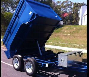 New hydraulic skip bin style tipper trailers - all sizes Darwin CBD Darwin City Preview