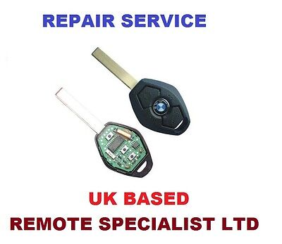BMW E38 E39 E46 E53 E61 E90 Remote Key Repair Service  Faulty  Fix