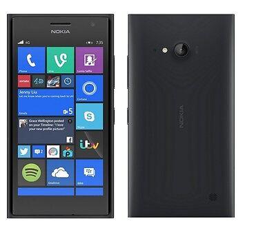 Nokia Microsoft Lumia 735   16Gb Black  Verizon Smartphone Cell Phone Page Plus