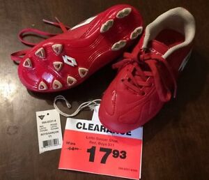 Lotto soccer cleats (size 11 boys)