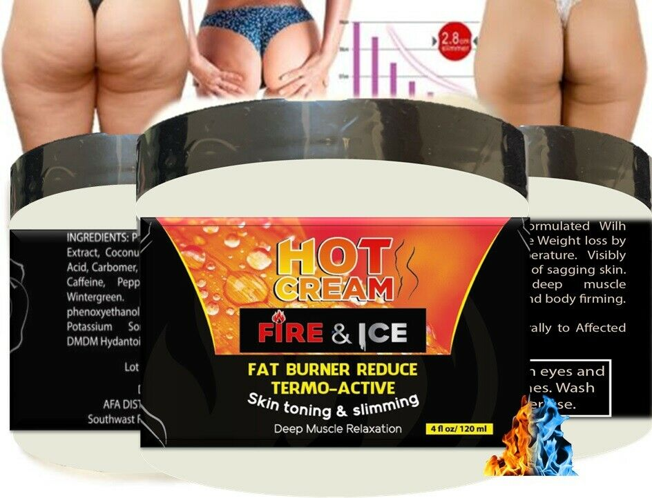 For Body Naturals Hot Cream for Cellulite Reduction Skin Toning and Slimming 1