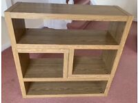 Oak style versatile Shelve Stand