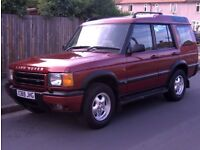 2000 reg Landrover Discovery 2 TD5 Diesel 2.5l Long MOT, Great cond 4x4 7 seater