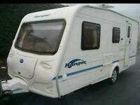 Bailey Ranger 470/4 2004 4 berth caravan