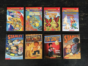 Magic school bus and flat Stanley books