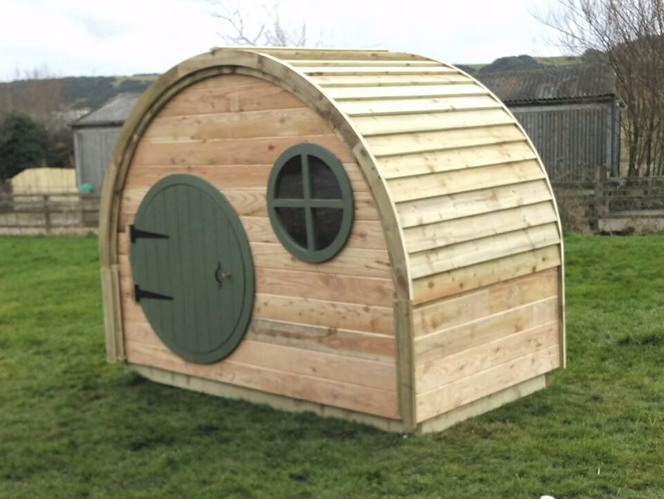 the hobbit house garden shed play house summer house