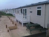 GREAT YARMOUTH BEACHFRONT CARVAN HIRE ON THE SAND HAVENS CAISTER PARK