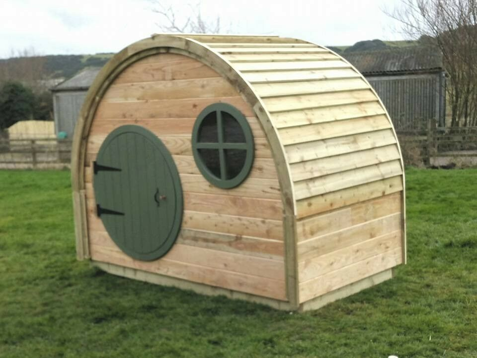 the hobbit house garden shed play house summer house | in filey