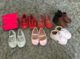 Toddler size 3 girls shoe bundle