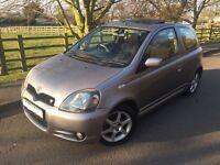 Rare Toyota Yaris 1.5 T Sport Petrol 2003 | LONG MOT | CHEAP INSURANCE | GREAT FIRST CAR | HPI CLEAR