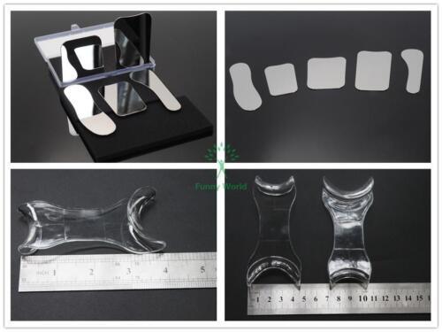 NEW Stainless Steel Photographic Mirror & Intraoral Cheek Lip Retractor Opener