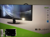 """Acer 27"""" inch HD LED GAMING MONITOR NEW"""