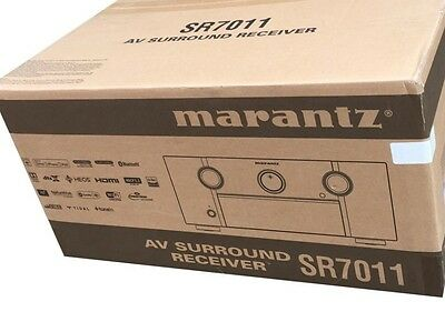 Marantz SR7011 9.2 Channel Full 4K Ultra HD AV Receiver with built-in HEOS wirel