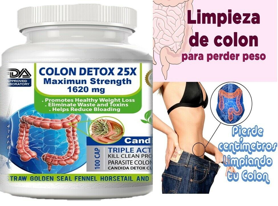 Colon cleanser combate estreñimiento, mala digestion limpieza del colon kit fast 1