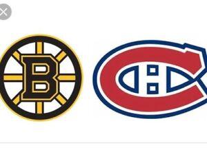 Canadiens VS Boston