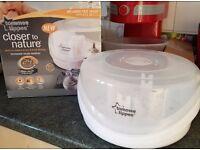 Tommee tippee microwave steam steriliser used