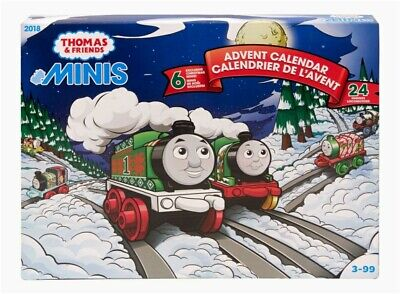 Thomas & Friends 2018 Advent Calendar. Six Holiday Minis. 24 Engines!