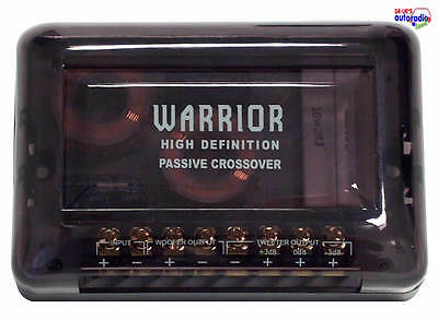 % Hifonics  Warrior 2-Wege Frequenzweichen  Paar  NEU