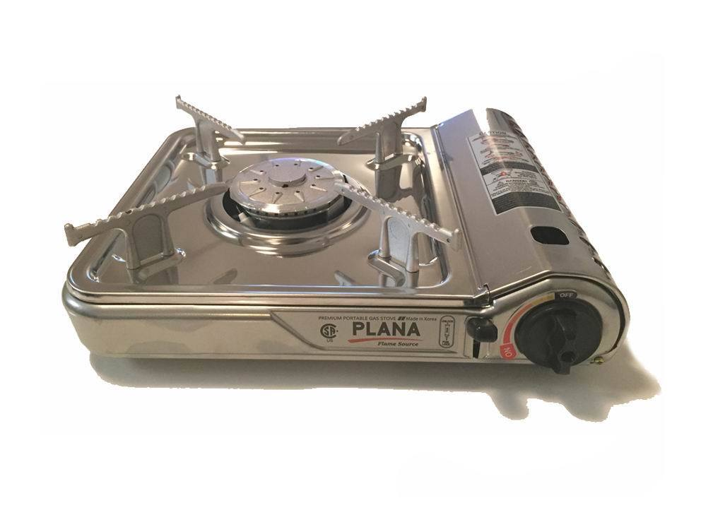 Stainless Single Portable Butane Gas Burner Stove Camping Grill MADE IN KOREA