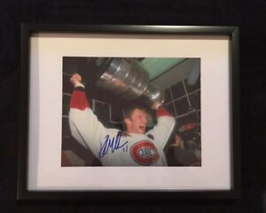 Montreal Canadiens Kirk Muller signed and framed photo