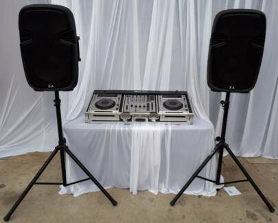 Hire D.I.Y Pioneer CDJ DJM system and sound system $120 4 weekend