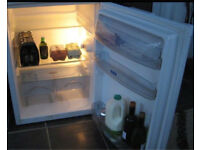 White whirlpool a class under counter fridge - free local delivery in/around Bournemouth