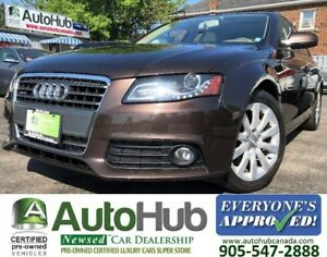 2012 Audi A4 AWD-LEATHER-SUNROOF