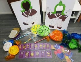 Willy Wonka/ Roald Dahl Party Pack Decorations