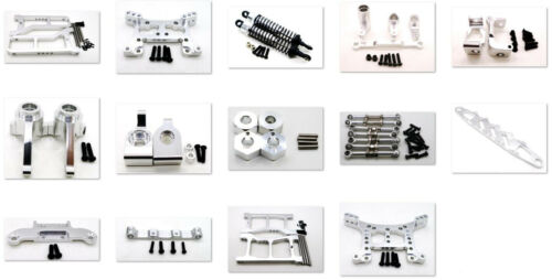 Metal Steering Hub Carrier/Shock Damper/Arm parts for HQ 1/16 731/732/733/734 Si