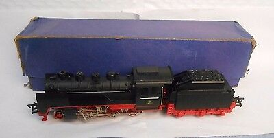 Vintage Fleischmann HO 1350 Steam Loco In Original Blue Box