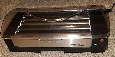 Waring Pro Professional Hot Dog Griller Roller 200w Hdg100 Works Great
